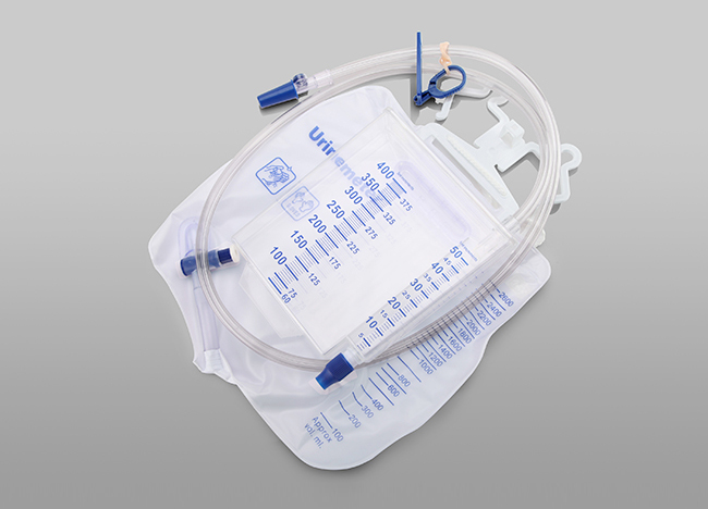2600ml Urine Bag with 400ml Meter
